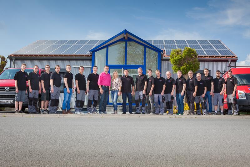 Jubiläum: Stierhof Heizung & Sanitär feiert 11-jähriges Jubiläum und Einzug in das neue Firmengebäude.